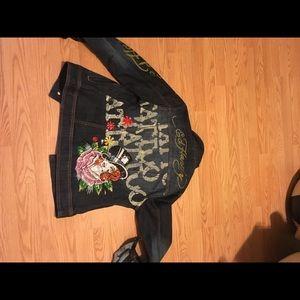 Es hardy jean jacket for women